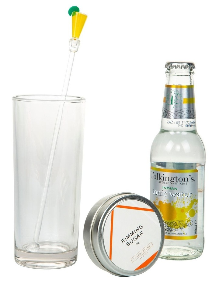 Flavoursome Tonic Water Set 200ml   35g image 4