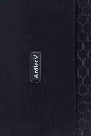 Antler - Oxygen Softside  Spinner Case Medium Black:70cm  2.2kg 4081124016