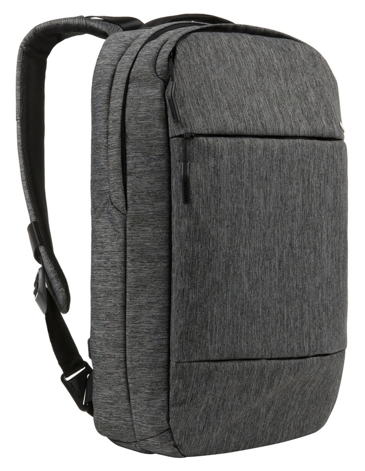 City Collection Compact Backpack - Heather Black / Gunmetal Gray image 1