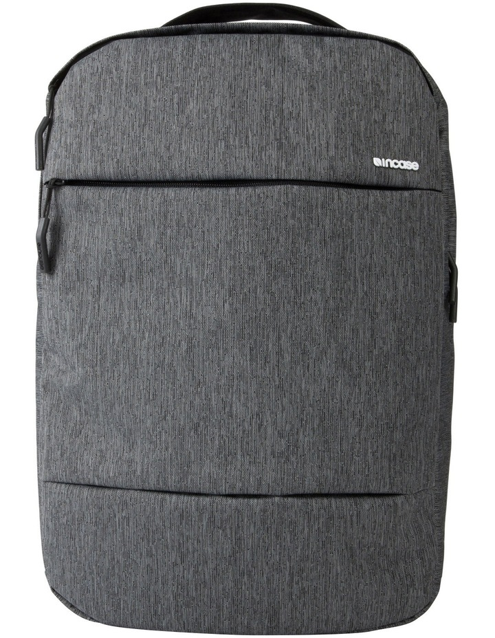 City Collection Compact Backpack - Heather Black / Gunmetal Gray image 2