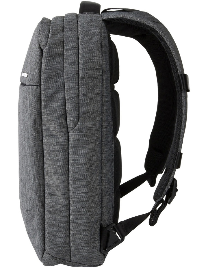 City Collection Compact Backpack - Heather Black / Gunmetal Gray image 3