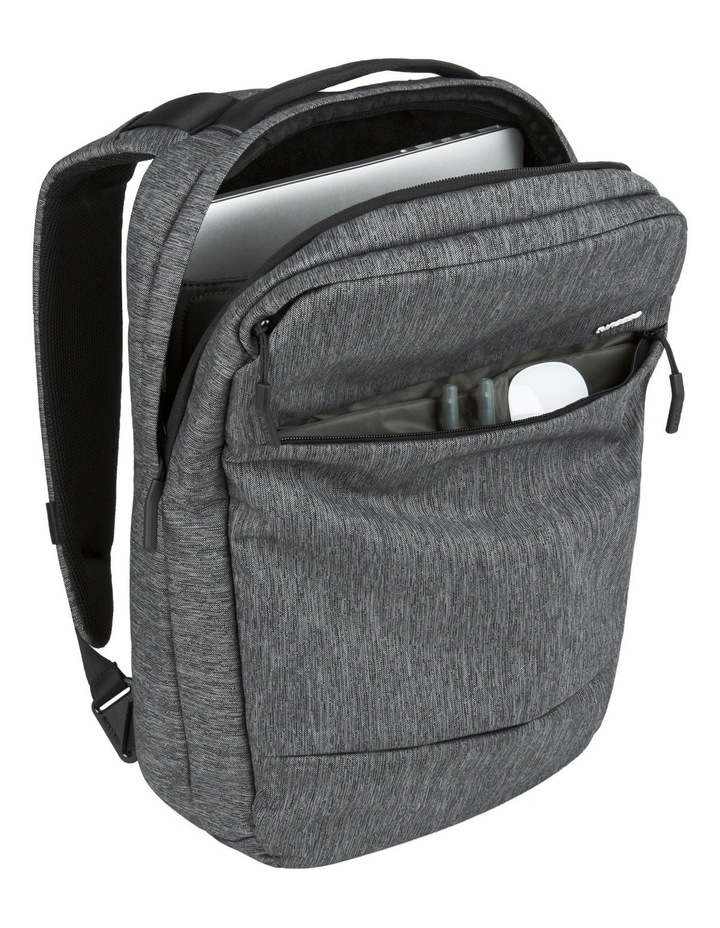 City Collection Compact Backpack - Heather Black / Gunmetal Gray image 4