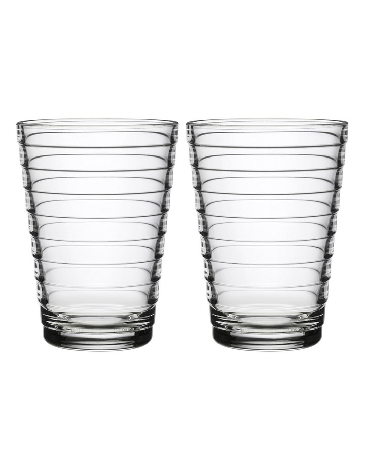 Aino Aalto Highball Set Of 2 Clear image 1