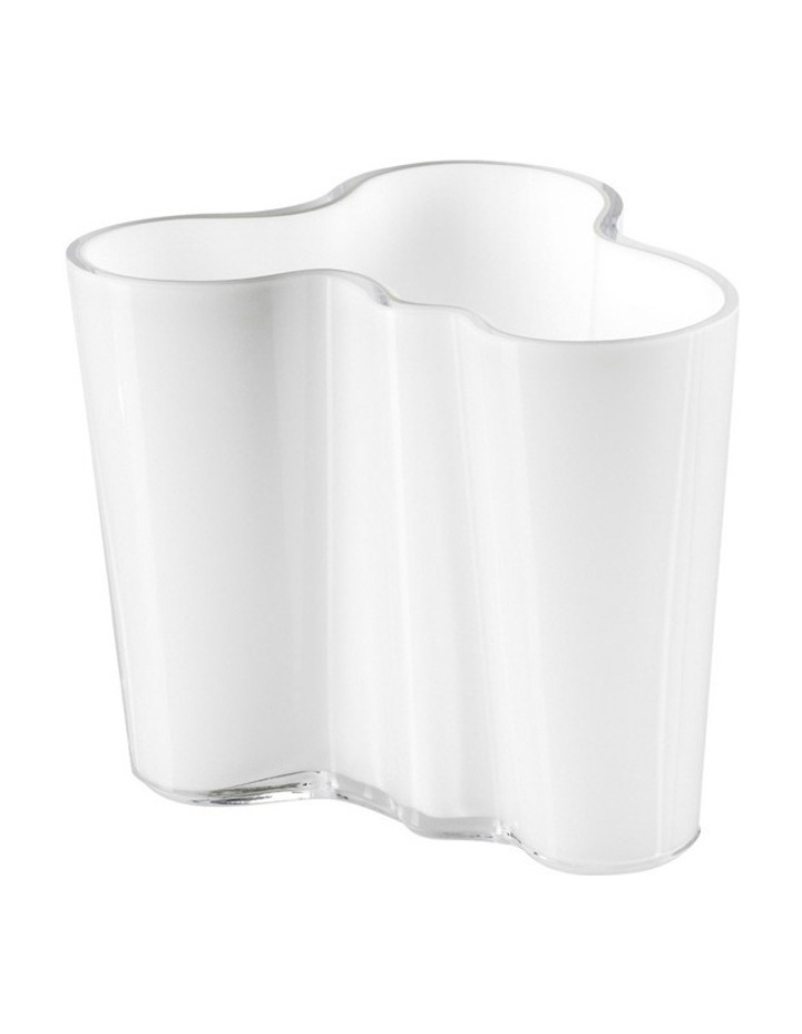 Alvar Aalto Vase 9.5cm White image 1
