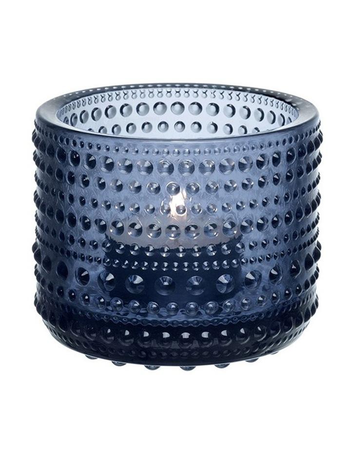 Kastehelmi 6.5cm Votive in Dark Blue image 1