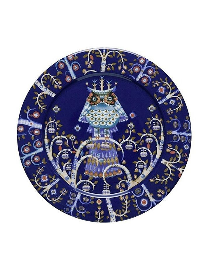 Takia Blue Plate 27Cm image 1