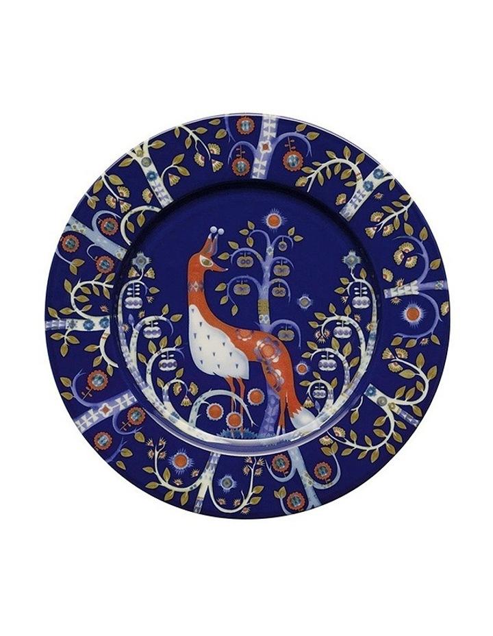 Takia Blue Plate 22Cm image 1