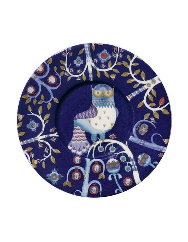 Takia Blue Coffee Saucer image 1