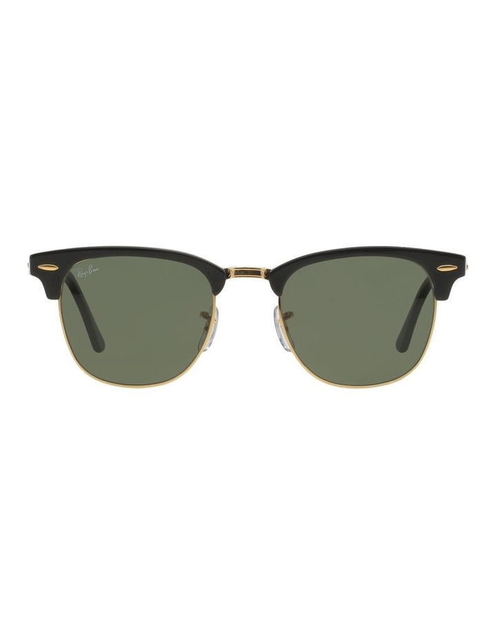 eeb0278080a Clubmaster RB3016 Sunglasses In Black image 1