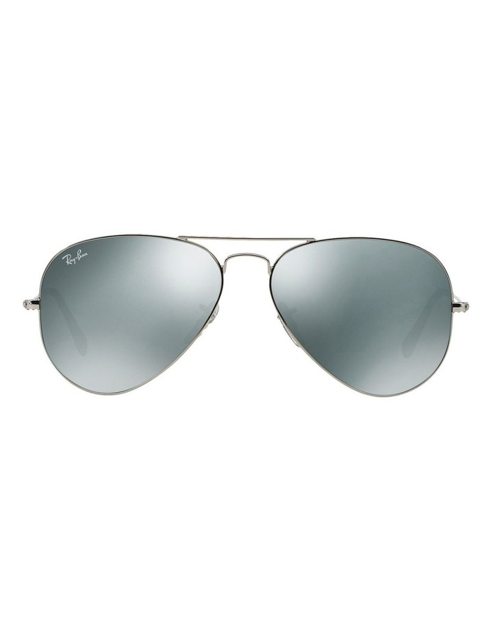 Ray Ban   Aviator  RB3025 Sunglasses In Silver   MYER 8abeefe4c4
