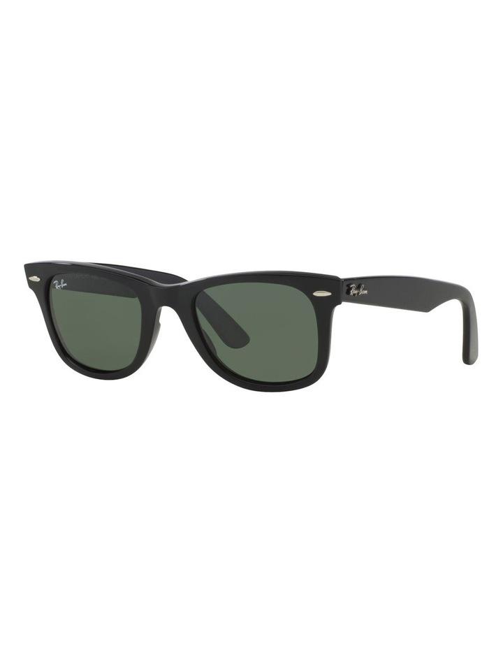 Wayfarer RB2140 Sunglasses In Black image 2