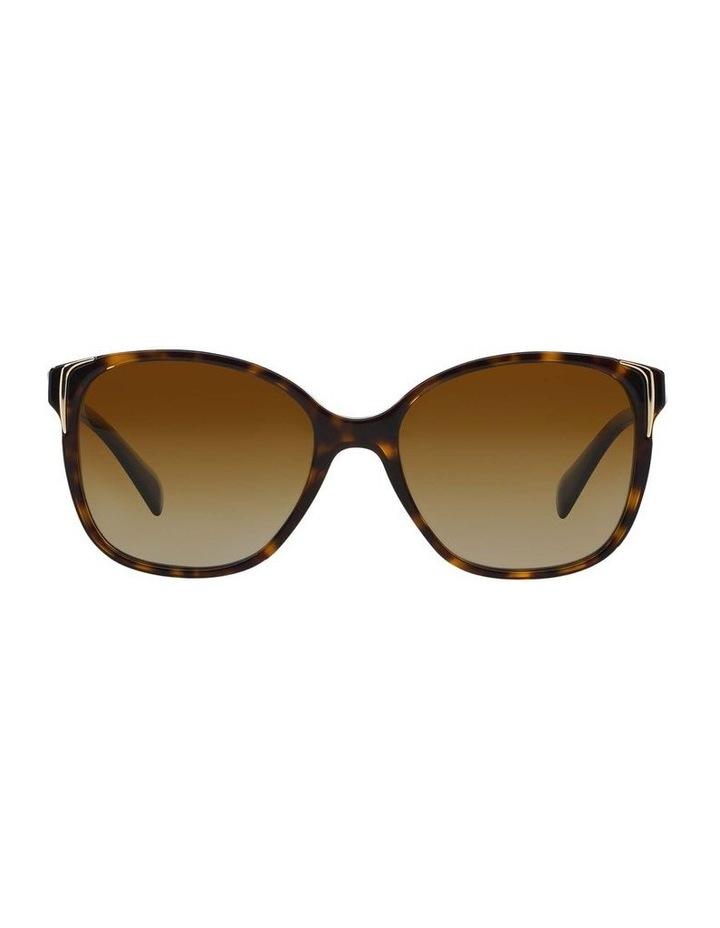Polarised Havana Square Sunglasses PR 01OS 350638 image 2