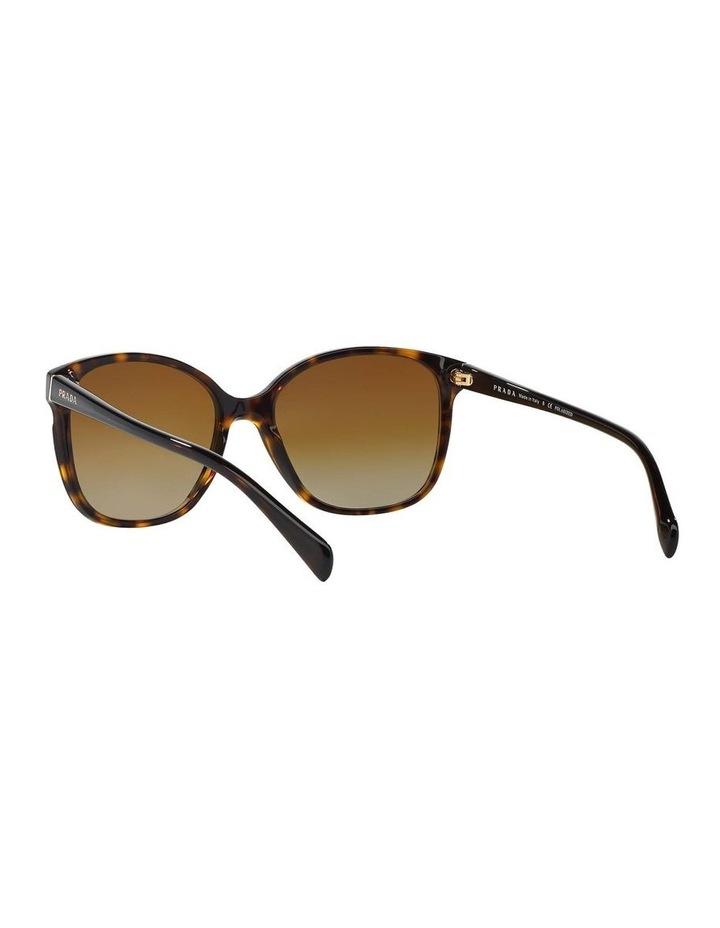 Polarised Havana Square Sunglasses PR 01OS 350638 image 6
