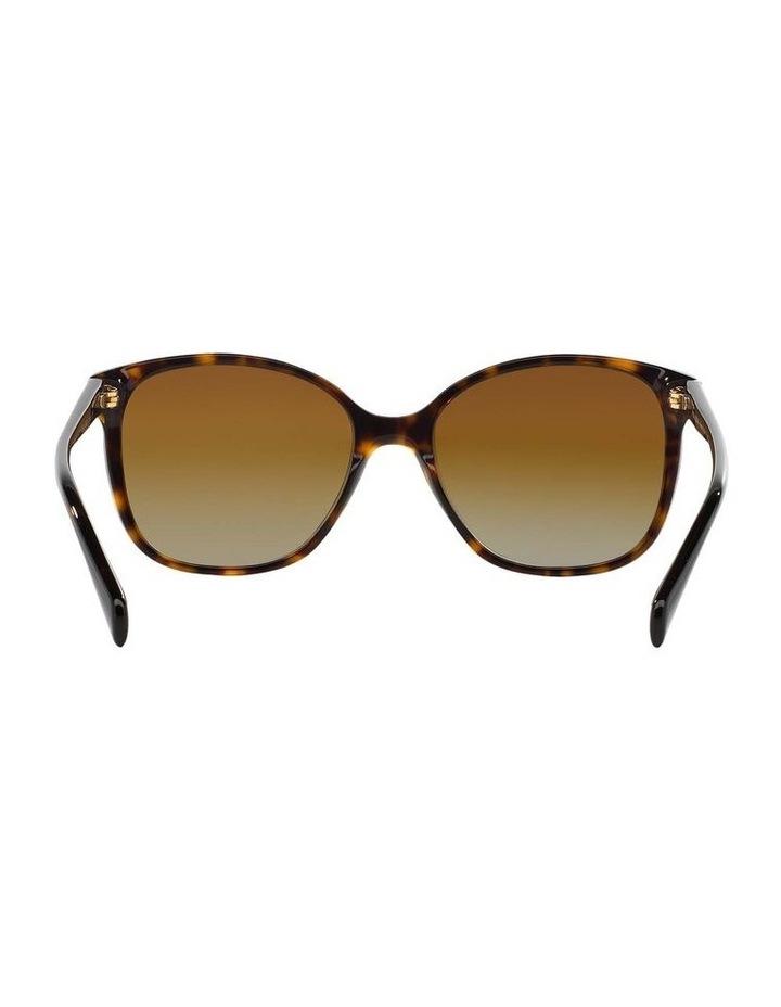 Polarised Havana Square Sunglasses PR 01OS 350638 image 7