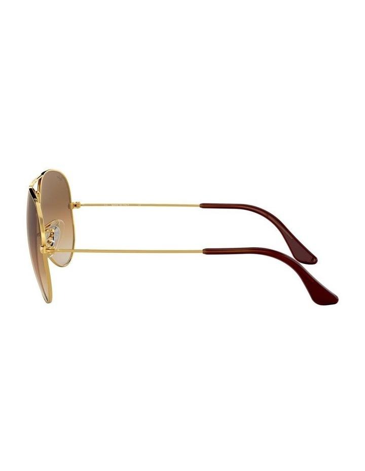 0RB3025 Aviator Large Metal 1062740014 Sunglasses image 4