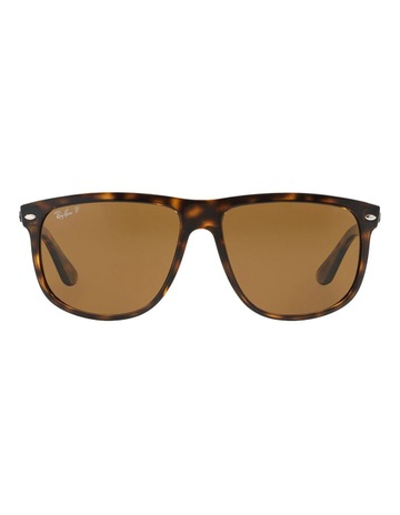 75001e3f5a29 Ray-Ban RB4147 Sunglasses In Brown. price