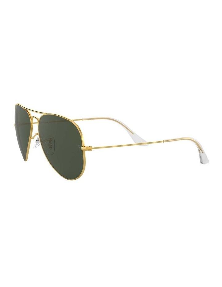 0RB3025 Aviator Large Metal 1062740004 Sunglasses image 3
