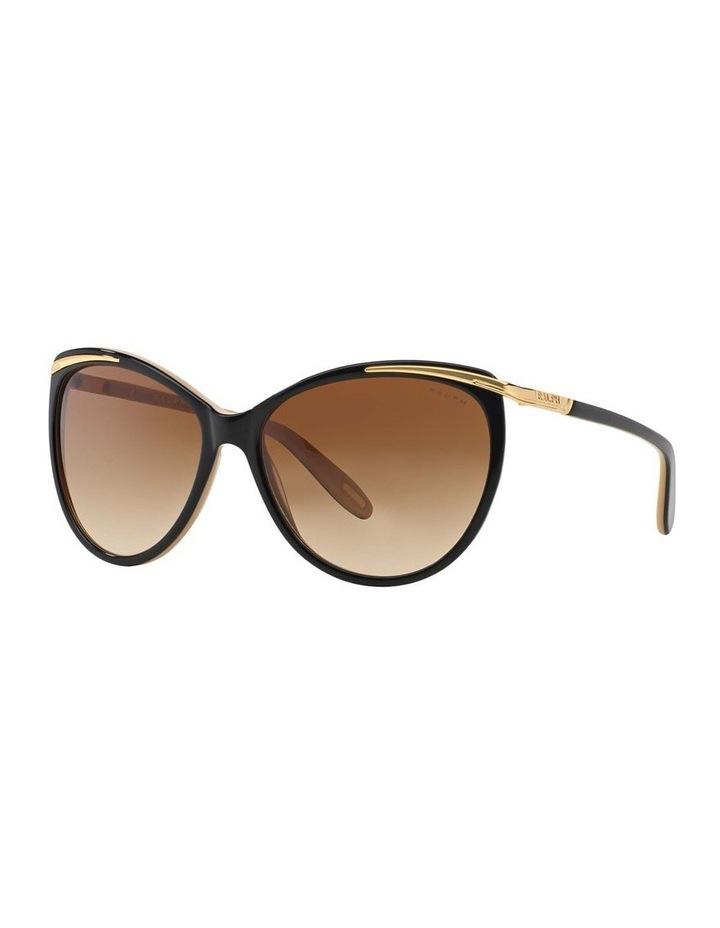 Black/Oatmeal Butterfly Sunglasses RA5150 348760 image 1