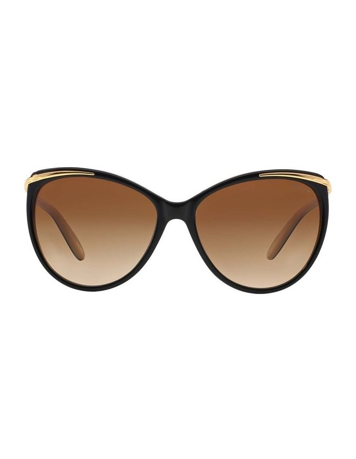 Black/Oatmeal Butterfly Sunglasses RA5150 348760 image 2
