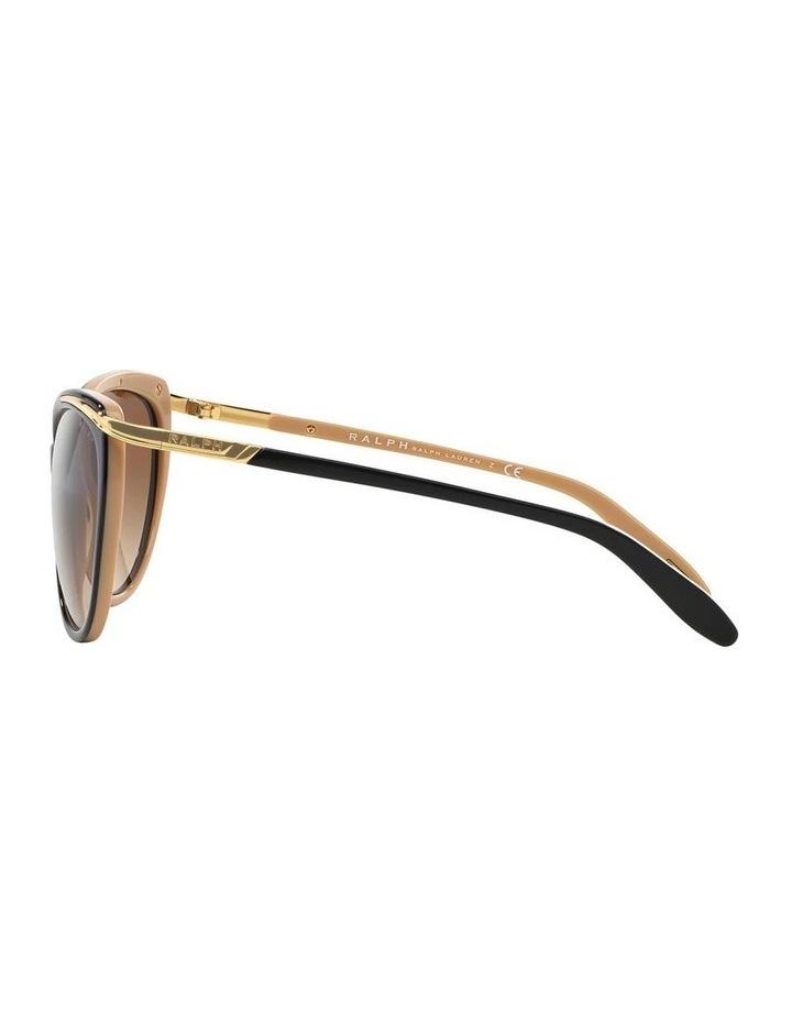 Black/Oatmeal Butterfly Sunglasses RA5150 348760 image 4