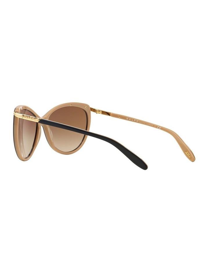 Black/Oatmeal Butterfly Sunglasses RA5150 348760 image 5