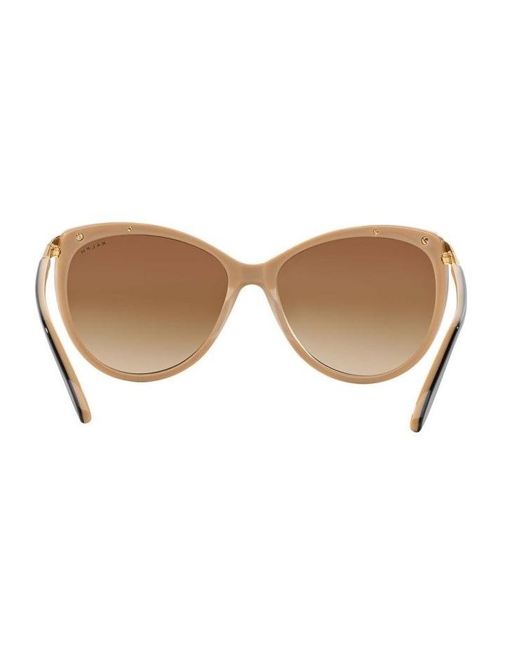 Black/Oatmeal Butterfly Sunglasses RA5150 348760 image 7