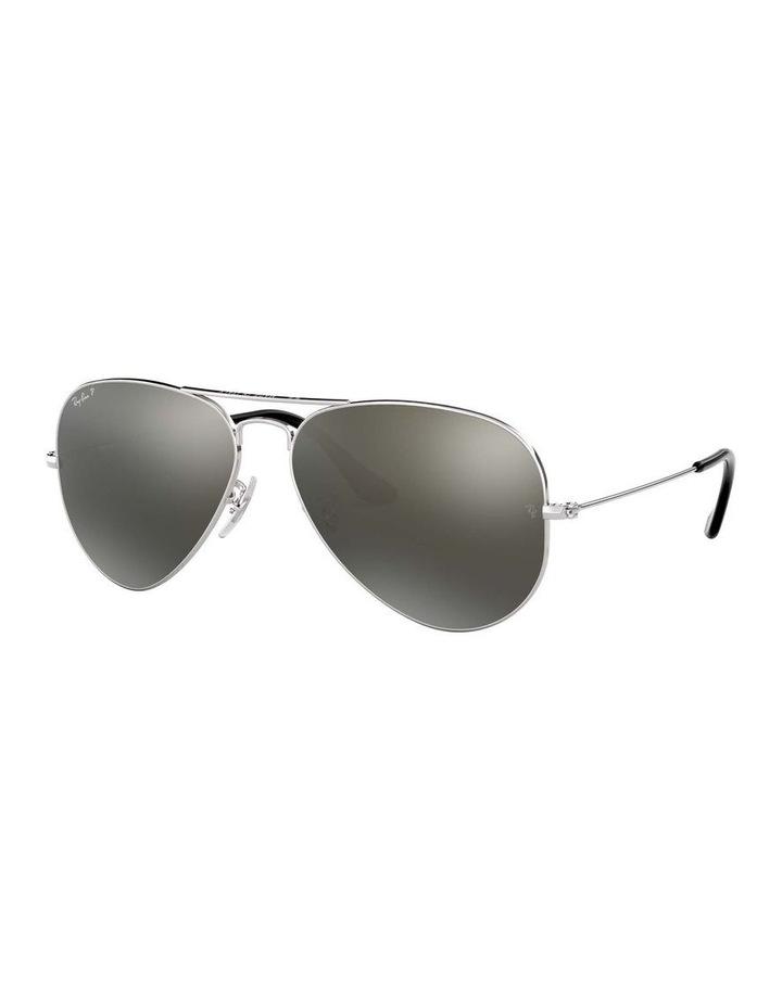 0RB3025 Aviator Large Metal 1062739018 Polarised Sunglasses image 1