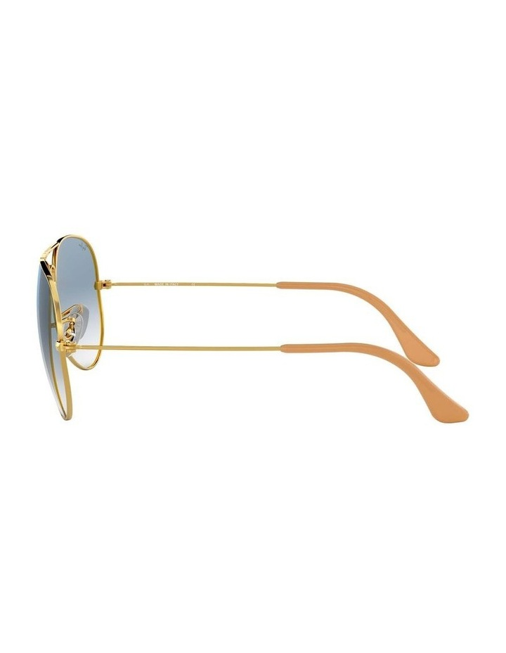 0RB3025 Aviator Large Metal 1062739073 Sunglasses image 4