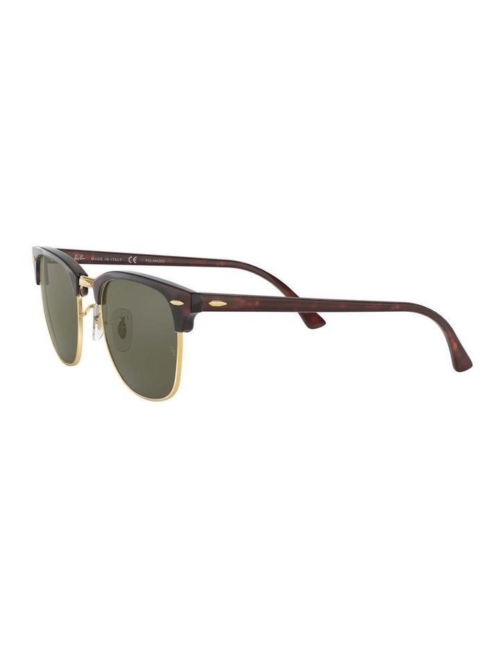 0RB3016 Clubmaster 1062735012 Polarised Sunglasses image 3