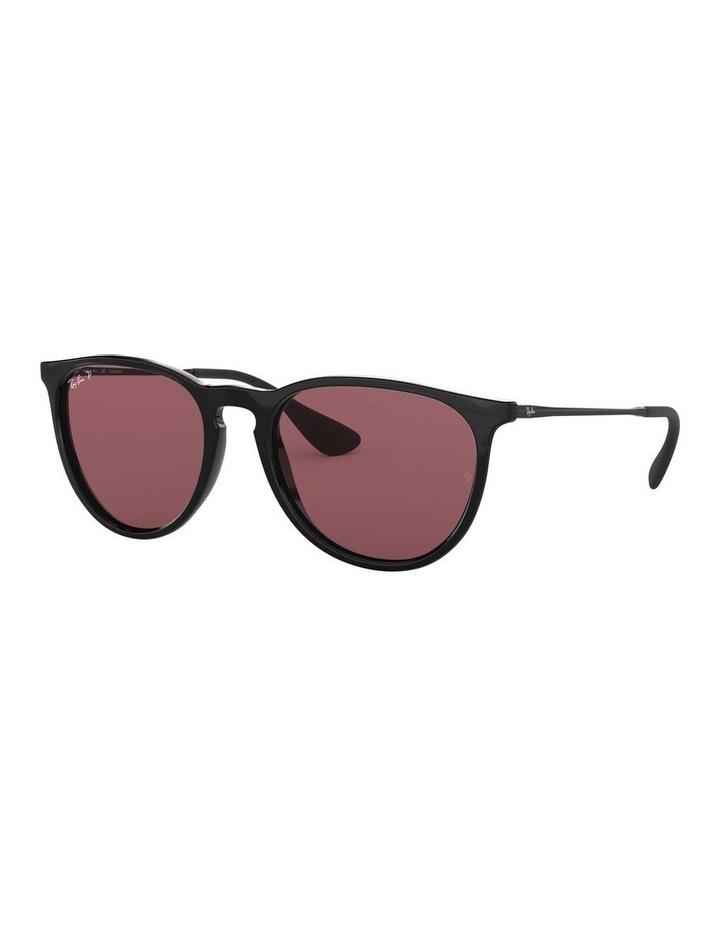 Erika Polarised Black/Red Keyhole Bridge Sunglasses 0RB4171 1098371020 image 1