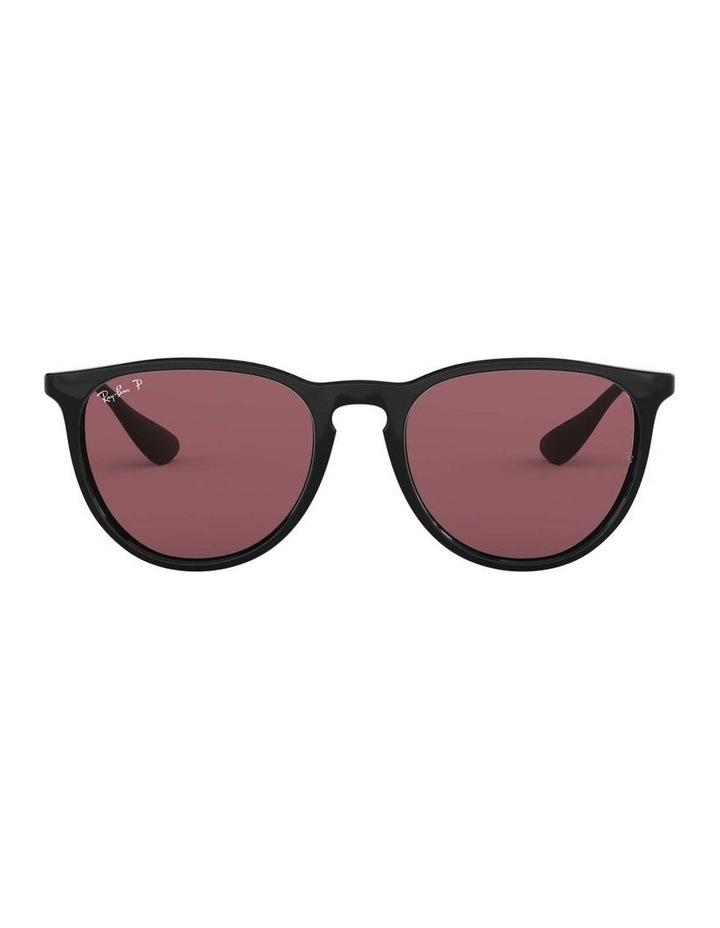 Erika Polarised Black/Red Keyhole Bridge Sunglasses 0RB4171 1098371020 image 2