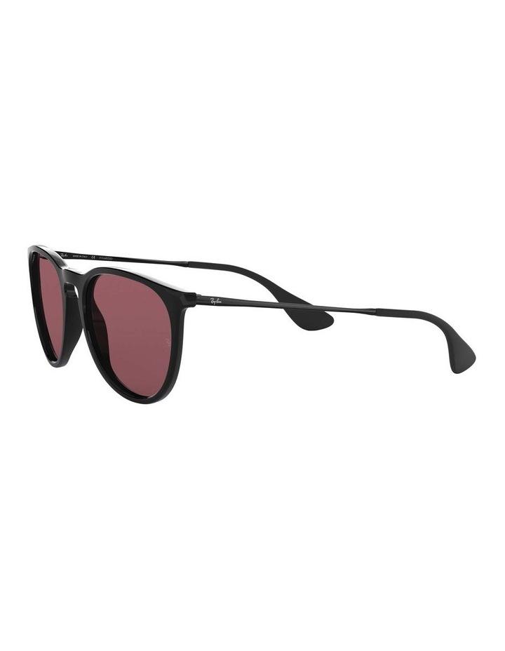 Erika Polarised Black/Red Keyhole Bridge Sunglasses 0RB4171 1098371020 image 3