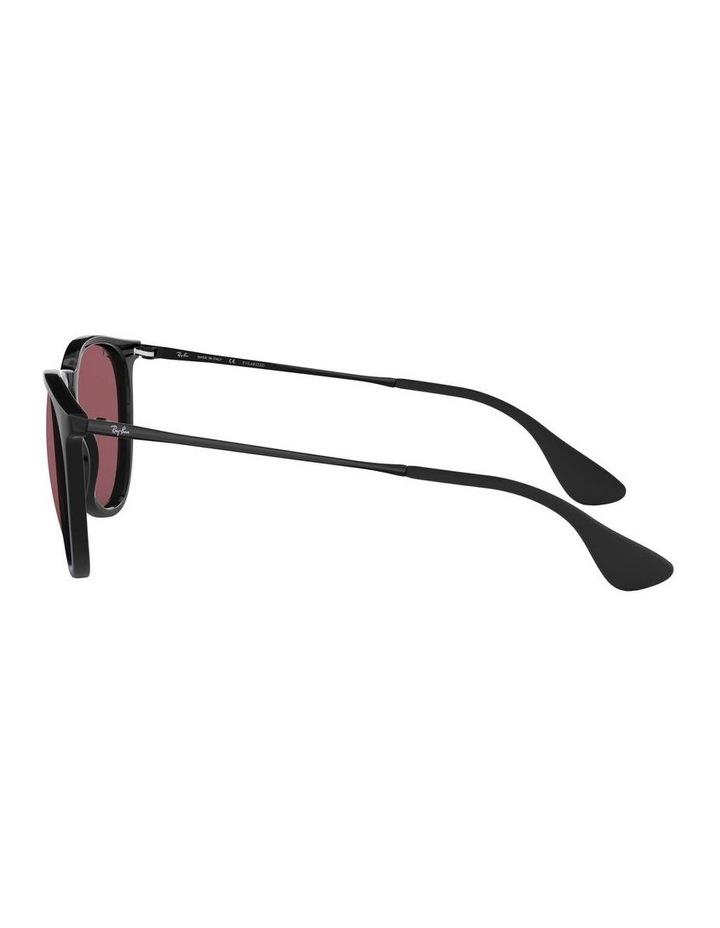 Erika Polarised Black/Red Keyhole Bridge Sunglasses 0RB4171 1098371020 image 4