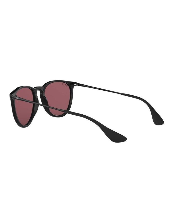 Erika Polarised Black/Red Keyhole Bridge Sunglasses 0RB4171 1098371020 image 5