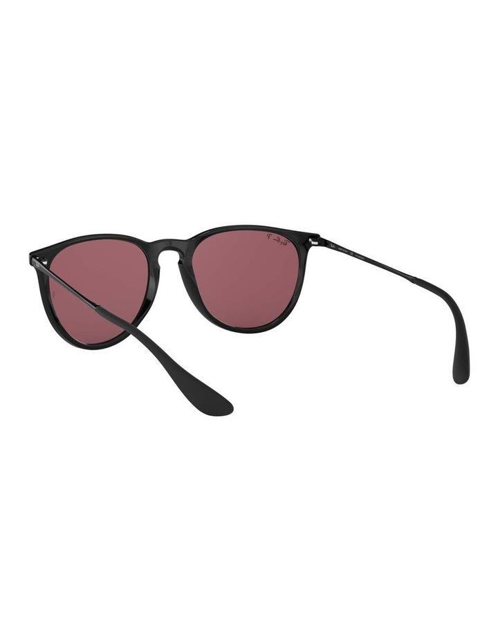 Erika Polarised Black/Red Keyhole Bridge Sunglasses 0RB4171 1098371020 image 6