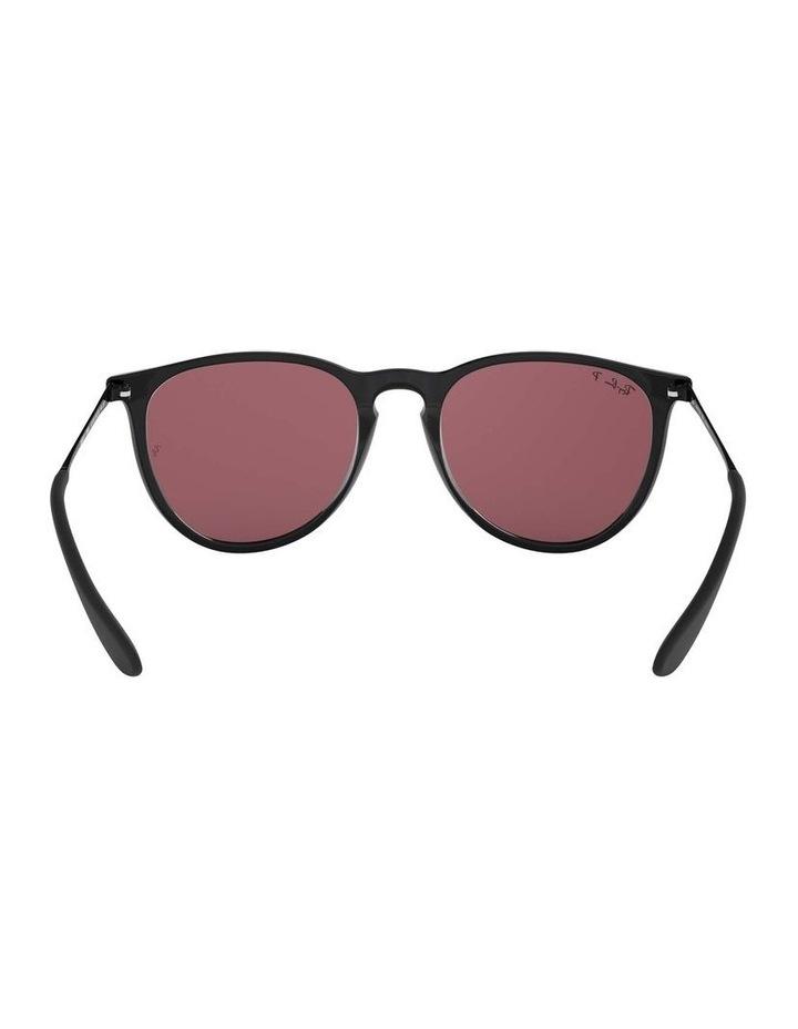 Erika Polarised Black/Red Keyhole Bridge Sunglasses 0RB4171 1098371020 image 7