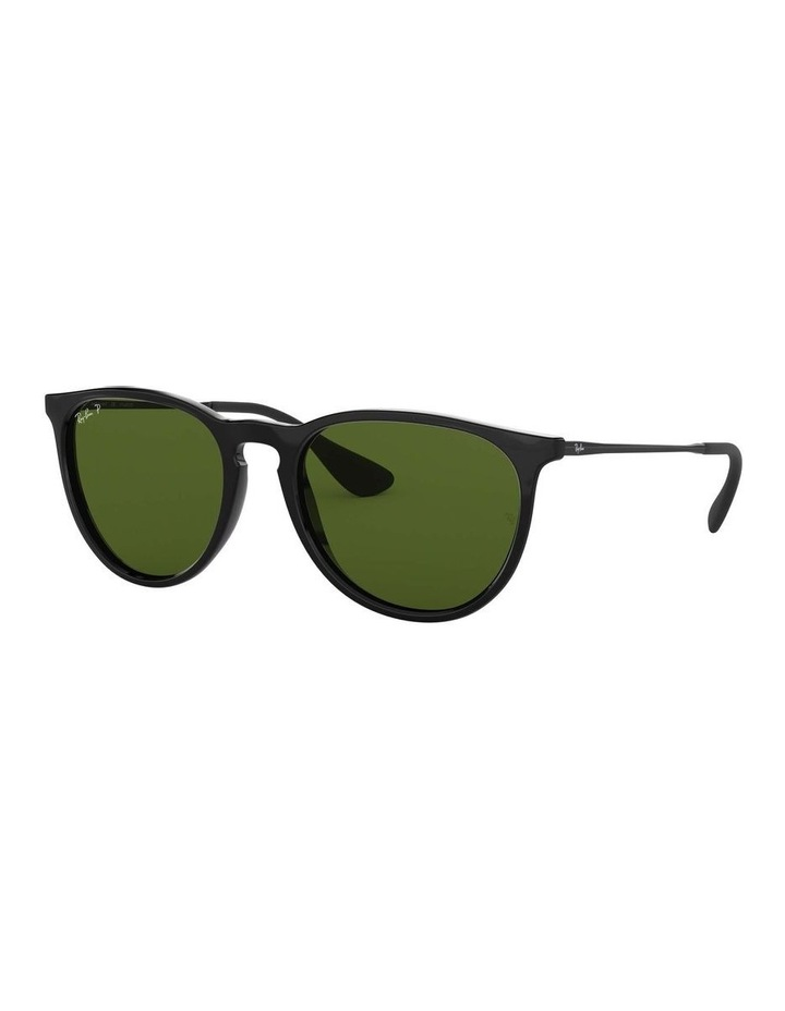 Erika Polarised Black Keyhole Bridge Sunglasses 0RB4171 1098371021 image 1