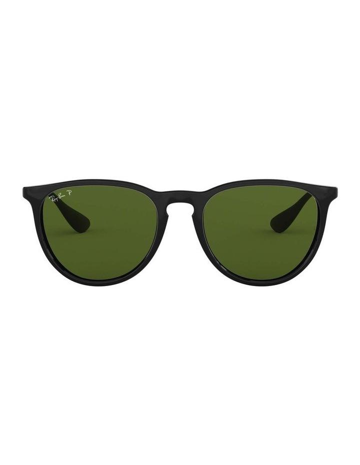 Erika Polarised Black Keyhole Bridge Sunglasses 0RB4171 1098371021 image 2