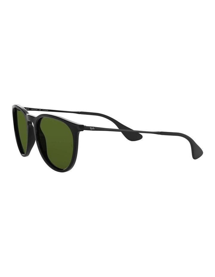 Erika Polarised Black Keyhole Bridge Sunglasses 0RB4171 1098371021 image 3