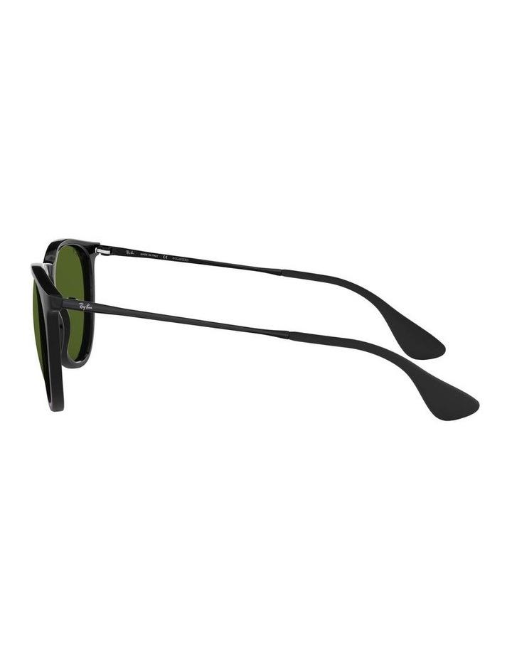 Erika Polarised Black Keyhole Bridge Sunglasses 0RB4171 1098371021 image 4