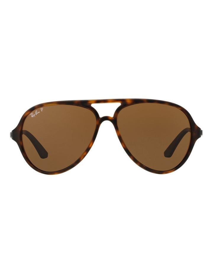 0RB4235 387090 Brown Polarised Sunglasses image 1