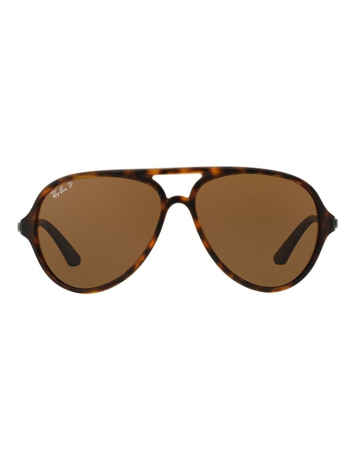 0RB4235 387090 Brown Polarised Sunglasses image 2