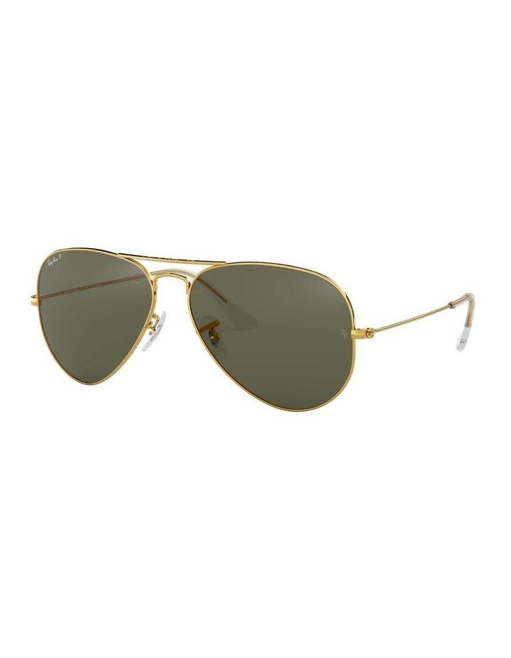 0RB3025 Aviator Large Metal 1062740013 Polarised Sunglasses image 1