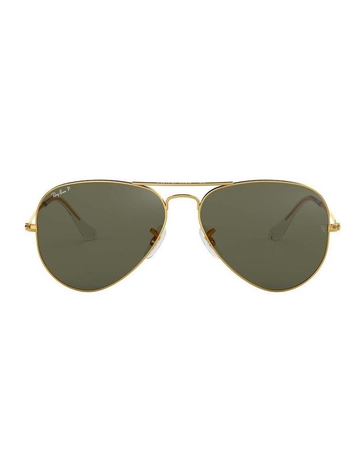 0RB3025 Aviator Large Metal 1062740013 Polarised Sunglasses image 2