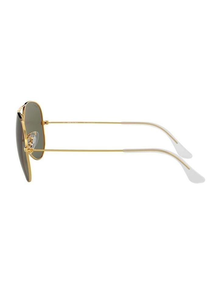 0RB3025 Aviator Large Metal 1062740013 Polarised Sunglasses image 4