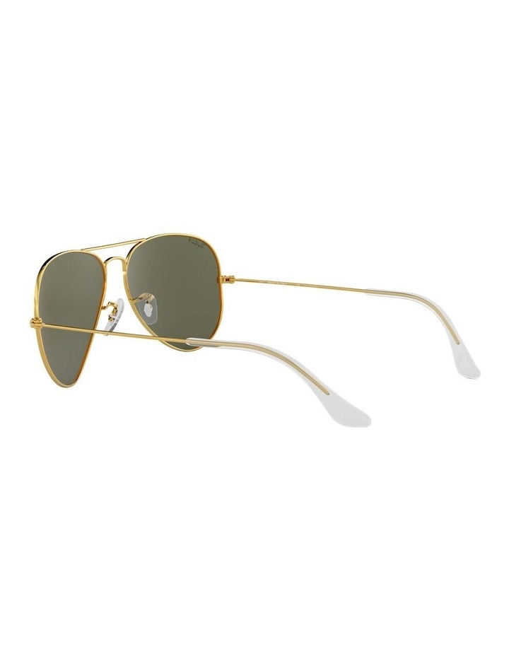 0RB3025 Aviator Large Metal 1062740013 Polarised Sunglasses image 5