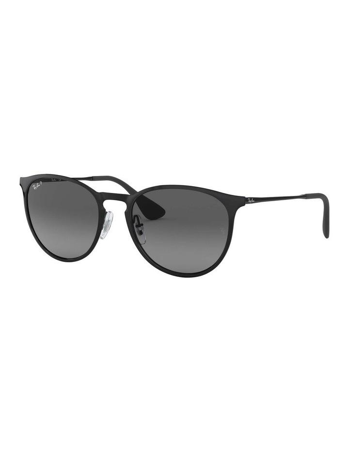 Erika Metal Polarised Black Keyhole Bridge Sunglasses 0RB3539 1509984005 image 1