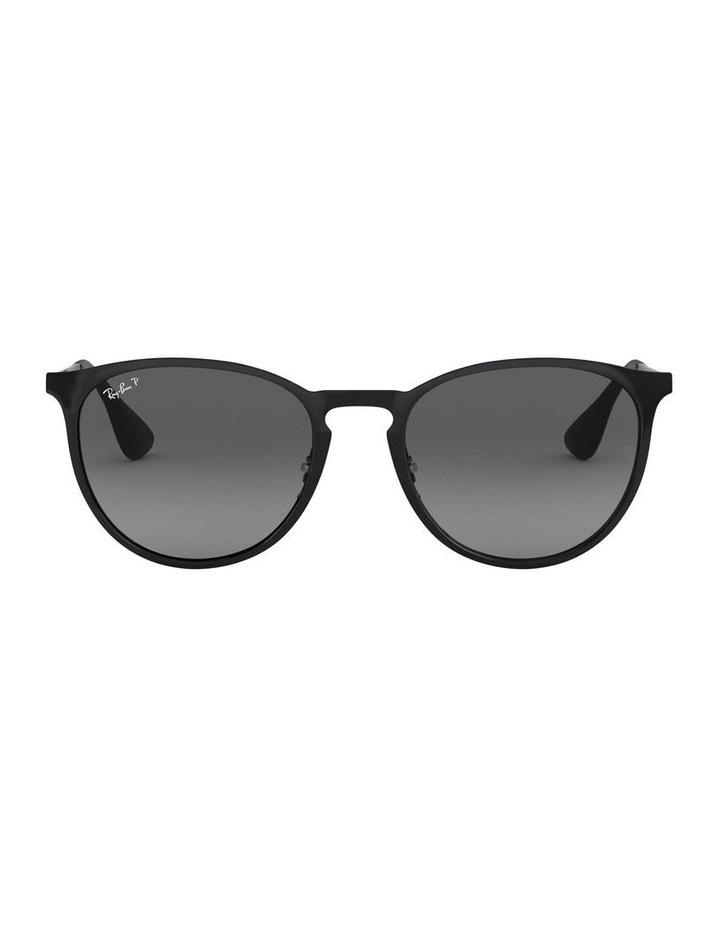 Erika Metal Polarised Black Keyhole Bridge Sunglasses 0RB3539 1509984005 image 2