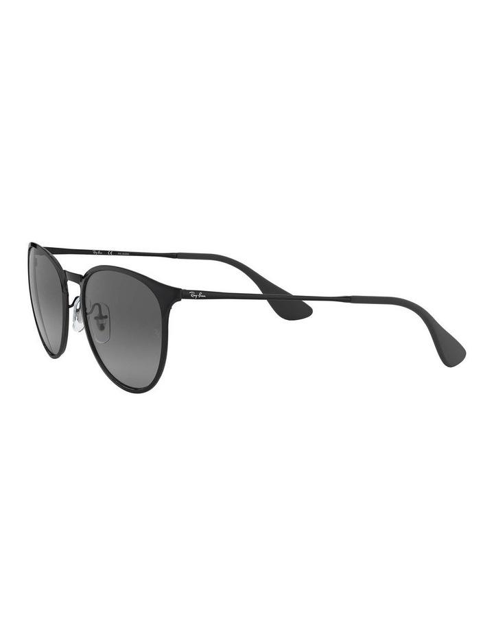 Erika Metal Polarised Black Keyhole Bridge Sunglasses 0RB3539 1509984005 image 3