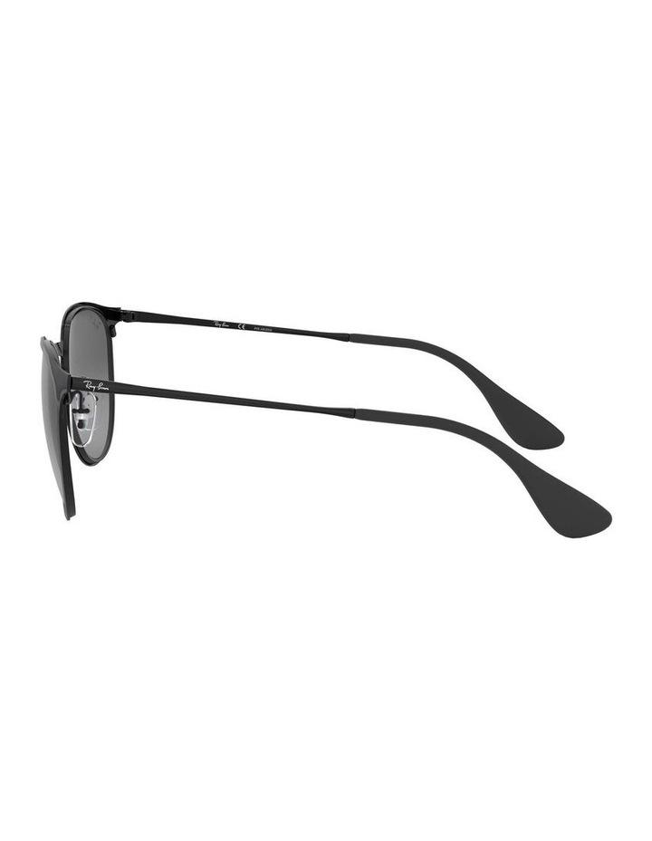 Erika Metal Polarised Black Keyhole Bridge Sunglasses 0RB3539 1509984005 image 4